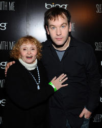 Sondra James and director Mike Birbiglia at the Official Cast After-Party for