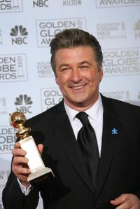 Alec Baldwin at the 64th Annual Golden Globe Awards.
