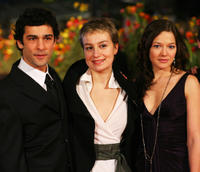 Nicolas Cazale, Anamaria Marinca and Hannah Herzsprung at the premiere of