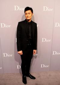 Shawn Yue at the Christian Dior and Chinese Artists.