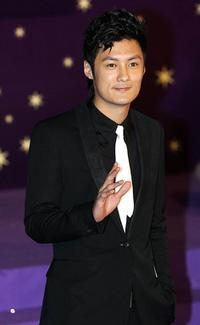 Shawn Yue at the 25th Hong Kong Film Awards.