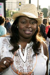 Angie Stone at the premiere of