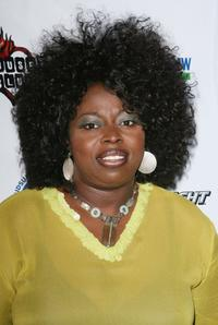Angie Stone at the Midsummer Night's Glam Jam.