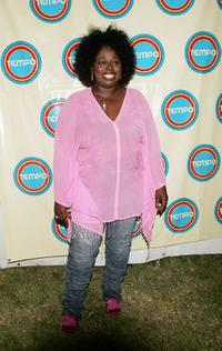 Angie Stone at the Tempo launch event.