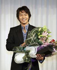 Kim Tae-woo at the Pusan International Film Festival.