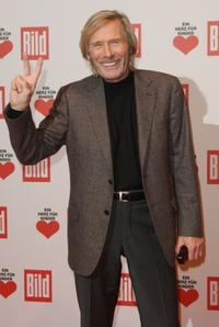 Horst Janson at the Ein Herz fuer Kinder (A Heart for Children) charity telethon gala.