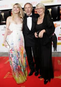 Horst Janson, his wife Hella and daughter Laura at the 42nd Goldene Kamera Awards.