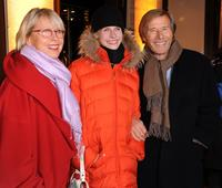 Hella, Laura Janson and Horst Janson at the opening of Gucci Store.