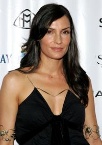 Famke Janssen at Sapporo & Mercedes Benz Maybach Presents VMA Cookout 2006.