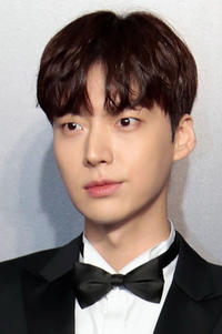 Ahn Jae-Hyun at the amFAR Hong Kong Gala 2017.