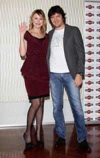 Giorgia Wurth and Fabio de Luigi at the photocall of