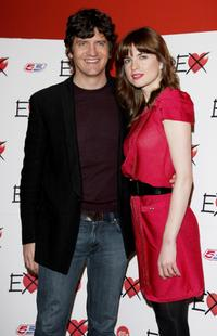 Fabio de Luigi and Cecile Cassel at the photocall of