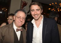 CEO of Focus Features James Schamus and actor Lee Pace at the N.Y. premiere of