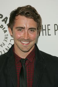 Lee Pace at the Paley Center for Medias 25th annual Paley Television Festival.