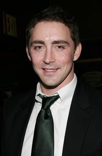 Lee Pace at the world premiere of