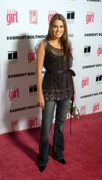 Nikki Reed at the First Annual ELLEGIRL Hollywood Prom party.