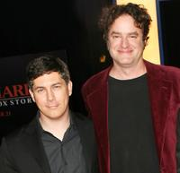 Chris Parnell and Matt Besser at the premiere of