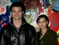 Daniel Gillies and Rachael Lee Cook at the opening of