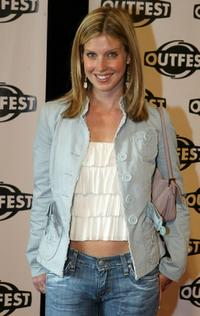 Jill Ritchie at the opening night gala of Outfest 2004: The 22nd L.A. Gay and Lesbian Film Festival.