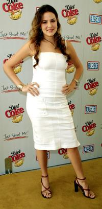 Marieh Delfino at the Diet Coke Special Benefit for the United Service Organizations.