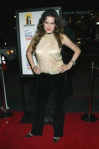 Marieh Delfino at the premiere of