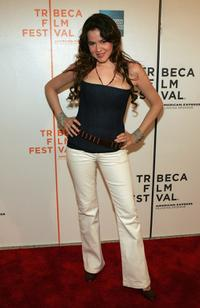Marieh Delfino at the screening of