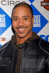 Brian J. White at the 38th NAACP Image Awards Pre-Show Gala.