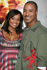 Tamiko Nash and Brian J. White at the premiere of