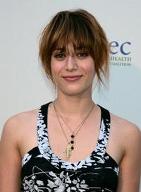 Lizzy Caplan at the Children's Health Environmental Coalitions (CHEC) annual benefit.