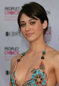 Lizzy Caplan at the 33rd Annual Peoples Choice Awards.