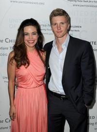 Amelia Heinle and Thad Luckinbill at the United Friends of the Children's Brass Ring Awards Dinner 2010.