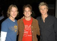 Michael Graziadei, Greg Rikaart and Thad Luckinbill at the
