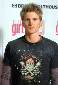 Thad Luckinbill at the First Annual ELLEGIRL Hollywood Prom party.