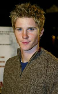 Thad Luckinbill at the premiere of