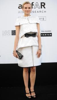 Diane Kruger at the Amfar auction in southern France.
