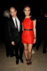 Jason Wu and Diane Kruger at the 2009 CFDA Fashion Awards.