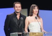 Gilles Lellouche and Geraldine Pailhas at the 32nd Nuit des Cesar ceremony.