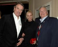 Eric Braeden, Daisy Lang and Peter Jason at the premiere of