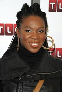 India.Arie at the premiere of