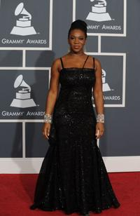 India.Arie at the 52nd Annual GRAMMY Awards.