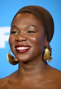India.Arie at the 39th NAACP Image Awards.
