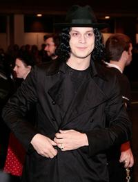 The White Stripes at the screening of