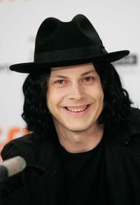 The White Stripes at the press conference of