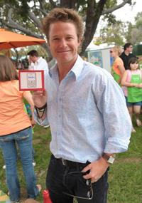 Billy Bush at the Elisabeth Glaser Pediatric Aids Carnival.