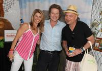 Lori Loughlin, Billy Bush and Howie Mandel at the Kodak Photo Sharing booth during the 21st Annual