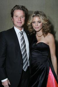 Billy Bush and Annalynne McCord at the first Annual Noble Awards.