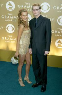 Petra Nemcova and Craig Kilborn at the 46th Annual Grammy Awards.