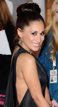 Preeya Kalidas at the red carpet of The BRIT Awards 2011.