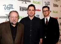 Ricky Jay, Director Sean McGinly and Colin Hanks at the screening of