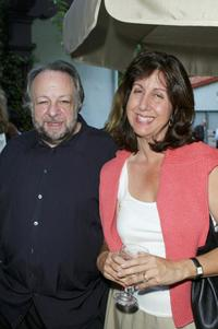 Ricky Jay and Chris Ann Verges at the Week Publication Cocktail party.